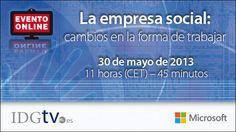 Webinar: Social Enterprise   IDGtv