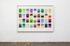 "Christian Muscheid, aus der Serie: ""interaction of color"" 2014, Acryl auf Acryl, gerahmt, Foto: Georg Szabo Photography"