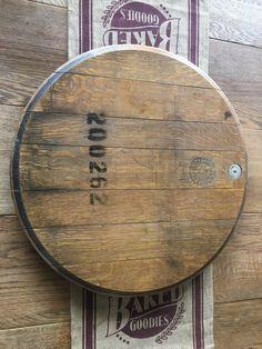 Reclaimed Napa Valley Wine Barrel Wooden Lazy Susan image