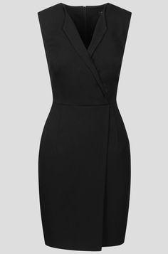 Elegancka sukienka kopertowa   ORSAY