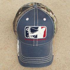 major league bowhunting | Major League Bowhunter Realtree AP/Navy Distressed Hat | Bowhunting