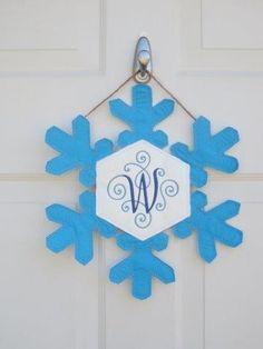 Snowflake Door Hanger- Custom