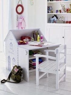 дневник дизайнера: Детские деревянные столики для игр и творчества. 20 лучших идей