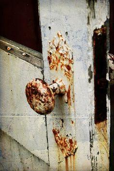 rusty doorknob   rusty door knob.   come inside.   Pinterest