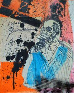 "Saatchi Art Artist Misha Dontsov; Painting, ""Dream Cinema"" #art"