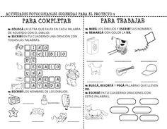 20 fichas de lectoescritura para imprimir y trabajar con niños de infantil y primaria. Recordamos la importancia de estimular la lectoescritura
