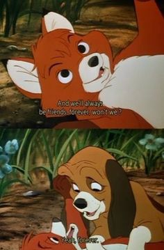 Day 24-- A Movie That Made You Cry: TIE The Fox and The Hound. JUST RIP MY HEART OUT. =(