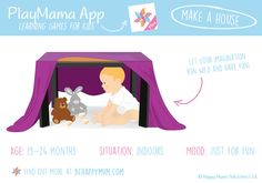 You'll find loads of great learning games for babies up to two years old in our new PlayMama App. Available to download on IOS and Android here: http://www.behappymum.com/playmama/. Learning Games, Baby Learning, Two Year Olds, Baby Up, Learning Through Play, Baby Games, Babies, Your Child, Ios