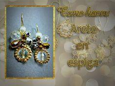 ARETES FÁCIL Y RAPIDOS DE HACER! Con Cecy Love (alambrismo) - YouTube