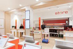 PICKUPSTORE, #retail #design by CARRE NOIR