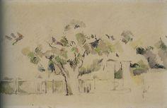 Paul Cézanne - Entry to a farm