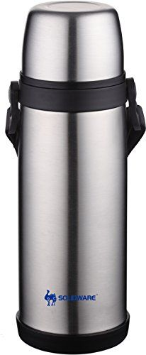 db21ca2409 Solidware Stainless Steel Vacuum Insulated Flask Travel Water Bottle 20oz  SOLIDWARE http://www