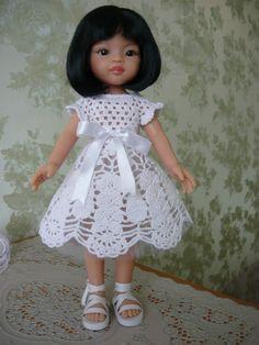 Моя Лия в нарядном платье.