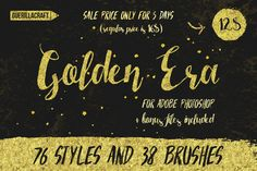 Golden Era for Adobe Photoshop by Guerillacraft on Creative Market