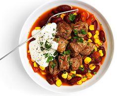 Mexikanischer Bohnen-Rindfleisch-Topf - Rezept - Saisonküche