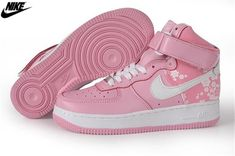 new product f5e8a 3090b Womens Nike Air Force One High Basketball Shoes Perfect Pink White  334031-611,Wholesale