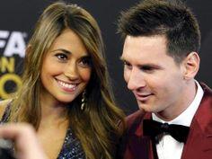 Antonella Roccuzzo und Welt-Fußballer Lionel Messi