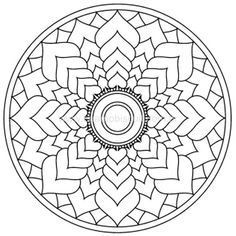 Lots of patterns for mandalas and other types of patterns too. Geometric Coloring Pages, Pattern Coloring Pages, Printable Adult Coloring Pages, Mandala Coloring Pages, Coloring Book Pages, Coloring Sheets, Mandala Pattern, Zentangle Patterns, Mosaic Patterns