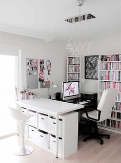 Awesome Office Ideas Office Room Design Luxury Interior Design Ideas For A Lady . Awesome Office Ideas Office Room Design Luxury Interior Design Ideas For A Lady Home Office Working Home Office Space, Home Office Design, Home Office Decor, House Design, Office Designs, Desk Space, Office Furniture, Office Spaces, At Home Office Ideas