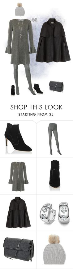 """""""Untitled #1989"""" by milliemarie ❤ liked on Polyvore featuring L.K.Bennett, Uniqlo and H&M"""