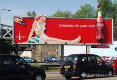125 annyversary Coca-Cola Billboard