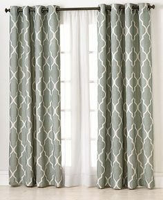 Elrene Window Treatments, Medalia Collection - Curtains & Drapes - for the home - Macy's