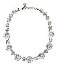 kate spade new york Crystal Gardens collar necklace