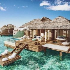 Think you know where this is? Hint: this isn't Tahiti or the Maldives. It's Jamaica! You're looking at the Caribbean's first all-inclusive overwater bungalows by @sandalsresorts. And we all know that life is somehow sweeter over the water. See more by tapping the link in our profile.#surroundmewithwater