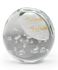 This 'Friends Forever' Paperweight is perfect! #zulilyfinds