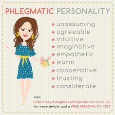 Phlegmatic Personality Traits – the Web Thinkers Free Personality Test, Infp Personality Type, Personality Psychology, Personality Profile, Myers Briggs Personality Types, Personality Quizzes, Sanguine Personality, Phlegmatic Personality, Temperament Types