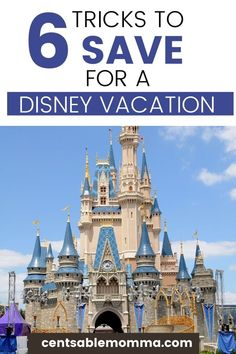 You're excited about taking a family vacation to Disney, but how are you going to pay for it? Check out these 6 tricks for how to save for a Disney vacation for tips and tricks to have the cash on hand in time for your trip. Disney Cruise, Disney Vacations, Disney Trips, Dream Vacations, Disney Money, Disney Travel, Family Vacations, Disney Parks, Walt Disney