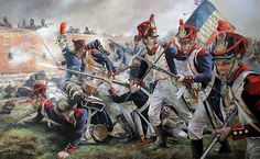 """""""Hougoumont the Frech attack"""", Chris Collingwood"""