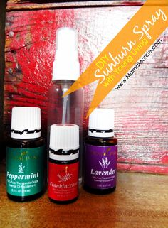 Mama Marcie: DIY Sunburn Spray with Young Living Essential Oils