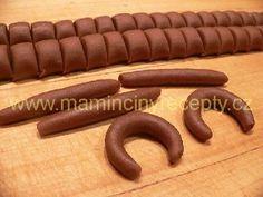 Kakaové rohlíčky – Maminčiny recepty Sausage, Meat, Food, Sausages, Essen, Meals, Yemek, Eten, Chinese Sausage