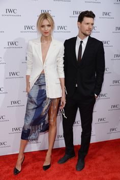 """Anja Rubik Sasha Knezevic Photos - Anja Rubik and Sash Knezevic attends the """"For the Love of Cinema"""" dinner hosted by IWC Schaffhausen and Tribeca Film Festival at Urban Zen on April 2014 in New York City. - 'For the Love of Cinema' Private Dinner Mafia, Top Luxury Brands, Polish Models, Anja Rubik, Timeless Elegance, Dress Me Up, Fashion Models, Personal Style, Women Wear"""