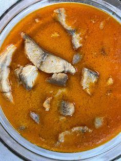 Eszter mentes konyhája: Harcsapaprikás glutén és laktózmentesen Thai Red Curry, Gluten, Ethnic Recipes, Food, Essen, Meals, Yemek, Eten