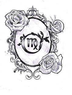 My new tattoo #virgo #tattoo