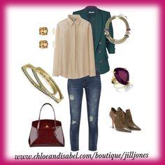 """Easy Monday Attack"" by jilljones222 www.chloeanisabel.com/boutique/jilljones #boss #ladypower #november #chloeandisabel"