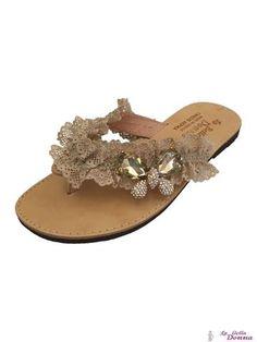 La Bella Donna - Χειροποιητα σανδαλια γυναικεια Online Shop Αθηνα, Περιστερι Palm Beach Sandals, Shoes, Fashion, Bias Tape, Moda, Zapatos, Shoes Outlet, Fasion, Footwear