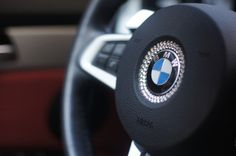 BMW Swarovski Crystals on Wheel