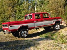 1976 Ford F250 Crew Cab 4x4 High Boy