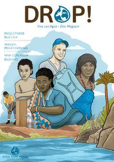 Viva Con Agua - Cover Illustration • www.andreasdenzer.de