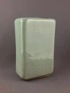 Glidden Pottery rectangular vase by PrairieDecArts on Etsy