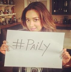 Look: Shay Mitchell & me are Team Paily... Why don't you join us?
