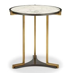 Quintus Rosa Side Table with Smoked Glass top, designed by Elisa Carlucci Metal Furniture, Table Furniture, Contemporary Furniture, Luxury Furniture, Furniture Design, Corner Table, A Table, Coffee Table Bench, Small Tables