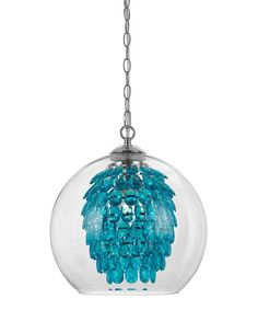 Turquoise Elements Glitzy Chandelier | zulily