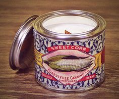Tin Candles, Soy Wax Candles, Coffee Cans, Vintage Style, Designers, Organic, Canning, Natural, Unique Jewelry