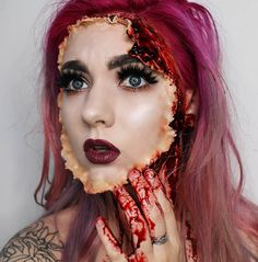"""And if you get tired of your Halloween look, you can always take it off and stick your own face back on.   16 Halloween Costumes That Will Make You Like, """"No More, Thanks."""""""