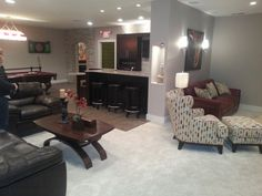 Dream Basement  Cerha Kitchen & Bath Design Center  Basement Alluring Kitchen And Bath Design Center Design Inspiration