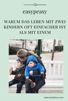 Warum das Leben mit Zwei Kindern manchmal einfacher ist als mit Einem 2 Kind, Health Fitness, Blog, Kids, Babys, Kids Learning, Only Child, Jealousy, Single Parent
